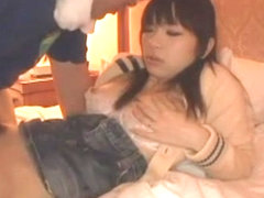 Fabulous Japanese whore Ami Morikawa in Hottest Wife, Stockings JAV scene