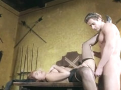 Vintage Porn Nice Milf In Seamed Nylons Gives Her Ass
