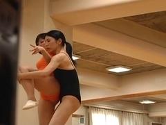 Lesbo Ballet Instructor