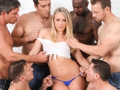 AJ Applegate & Jon Jon & Ramon Nomar & John Strong & Mick Blue & Erik Everhard in AJ Applegate In .