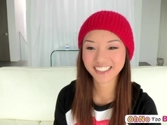 Alina Li Asian Teen Oiled Up Fucked Hard Oil Overload