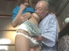 Exotic Japanese slut in Incredible Oldie, Wife JAV clip
