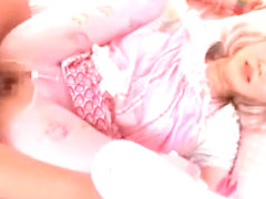 Horny Japanese chick Mei Kago in Incredible Lingerie, Stockings/Pansuto JAV clip