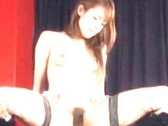 Incredible Japanese model Shelly Fujii in Exotic Stockings/Pansuto, Cunnilingus JAV movie