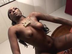 Crazy pornstar in exotic black and ebony, striptease xxx scene