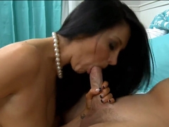 Ava Addams fucks like a nasty whore with her lovely boyfriend