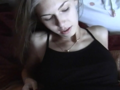 Anjelica in amazing oral sex in the hot couple sex video