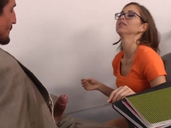 Naughty Bookworms Riley Reid and Tommy Gunn