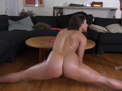 Latina PAWG Abella Danger Does a Split and Rides His Dick ap13726 HD