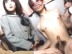 Crazy Japanese model Yuria Hidaka, Makoto Mizuhara, Nana Miyachi in Fabulous Girlfriend, Bus JAV s.