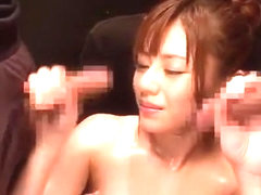 Crazy Japanese girl Rina Rukawa in Amazing Fetish, Fingering JAV movie