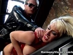 Rebecca More in Anal Asylum - HarmonyVision