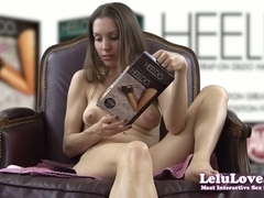 Lelu Love-Testing Heeldo Foot Sex-Toy