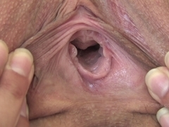 Legal Age Teenager Melina cunt close up