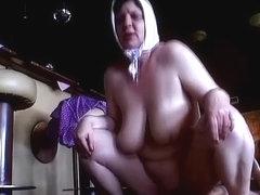 Helga in Granny Hardcore Movie