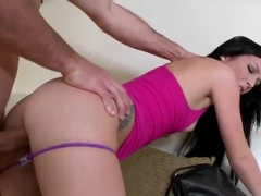 Doggy-style POV with cock-smitten Ava Cash and Jmac
