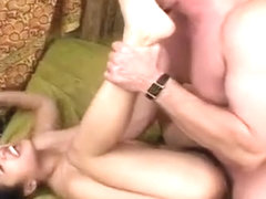 Long Legged Whoreiental Gets Drilled Hard