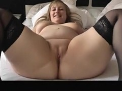 Chunky solo blond widening wide