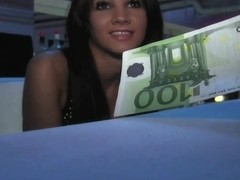 PublicAgent Adorable barmaid acquires drilled behind the bar