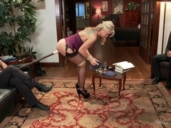 The Anal Training of a Domestic MILF Final Day