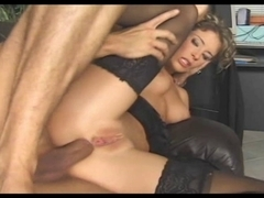 Simony Diamond Anal Sex in Nylons
