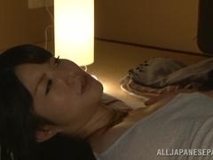 Hot Asian milf Chizuru Sakura fucks with her neighbor