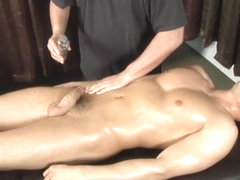 Jake Cruise, Pat Bateman in Massage Series #23: Young Hard and Buffed scene 2 - Bromo