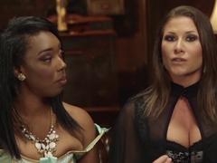 Fabulous fetish, anal porn scene with incredible pornstars Lisa Tiffian and Ariel X from Kinkunive.