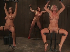Trina Michaels, Holly Heart and Christina Carter Part 4 of 4 of the August Live Feed