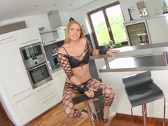 Givemepink blonde gets herself off