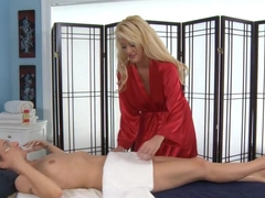 Incredible pornstars Natasha Starr, Courtney Taylor in Best Massage, Lesbian porn video