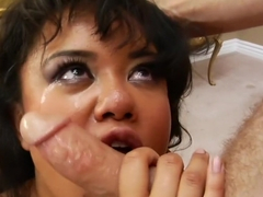 Hottest pornstar Annie Cruz in best cumshots, asian xxx video
