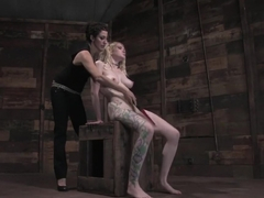Hottest fetish adult clip with fabulous pornstar Rain DeGrey from Wiredpussy