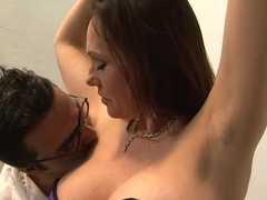 Horny pornstar Raquel Sieb in amazing mature, creampie sex video
