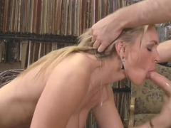 James Deen nails hard busty blonde milf Tanya Tate