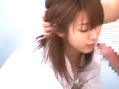 Hottest Japanese model Minako Konno in Horny Swallow/Gokkun, Fingering JAV movie
