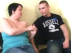 Curvy chick gets picked up on the street and pounded in the bathroom