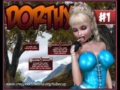 3D Comic: Dorthy. Episode 1