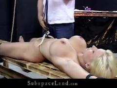 Big boobs blonde dominated