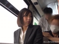 Hot office chick gets upskirt shots and a fucking