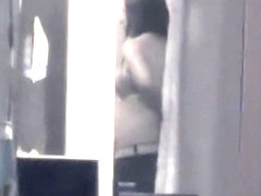 Pregnant Neighbour Changing