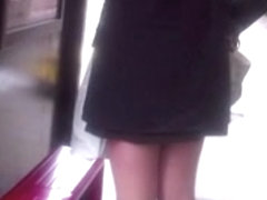 Short office skirt to workplace