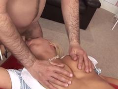 Incredible pornstar Natasha Marley in amazing facial, lingerie adult video
