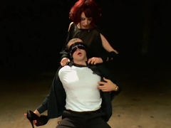 Horny fetish adult scene with crazy pornstars Maitresse Madeline Marlowe and Jake Jammer from Foot.