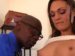 Crazy pornstar Olivia Wilder in best facial, interracial adult scene