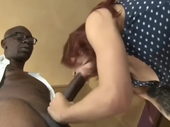 Redhead fucked by BBC
