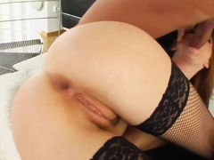 Tarra gets fucked hard in the ass