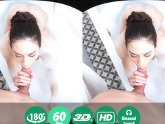 Arwen Gold in Wet Brunette Enjoys Bubble Bath And Hardcore Fuck - TMWVRNet