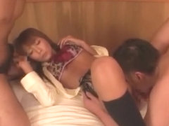 Amazing Japanese whore Rio Sakura in Horny Stockings JAV movie