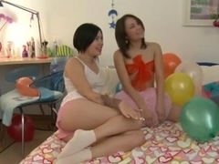 Birthday Party with a 3Some